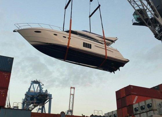 Yacht Marine Logistics
